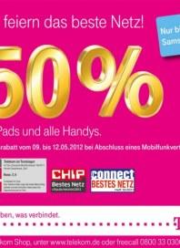 Telekom Shop Wir feiern das beste Netz Mai 2012 KW19 1