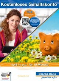 Sparda-Bank München eG Kostenloses Gehaltskonto Mai 2012 KW19