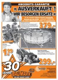 Globus Baumarkt Ausverkauft? Wir besorgen Ersatz Mai 2012 KW20