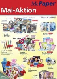 McPaper Mai-Aktion 2012 April 2012 KW18
