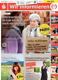 Kreissparkasse Ludwigsburg Altersvorsorge? Denken Sie jetzt daran Mai 2012 KW19