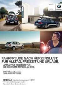 BMW AG Niederlassungen NRW Fahrfreude nach Herzenslust! Im Sommer  2012 April 2012 KW14