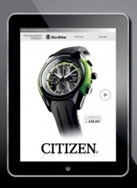 Citizen Eco-drive Mai 2012 KW20