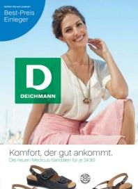 Deichmann Komfort, der gut ankommt. Im Sommer 2012 April 2012 KW18