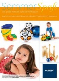KARSTADT Spielwaren - SommerSpaß - 02.04 Mai 2012 KW20