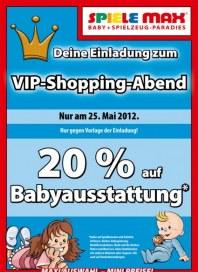 Spiele Max VIP-Shopping-Abend Mai 2012 KW20