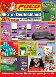 POCO Sensationeller Gartenmöbel-Abverkauf Mai 2012 KW20