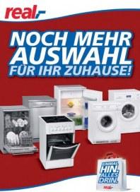 real,- Noch mehr Auswahl für Ihr Zuhause! Für das Jahr 2012 Mai 2012 KW21
