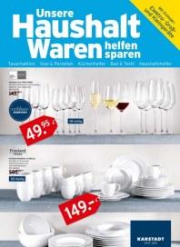 KARSTADT Karstadt Einrichtung - Unsere Haushalt Waren helfen sparen Mai 2012 KW21