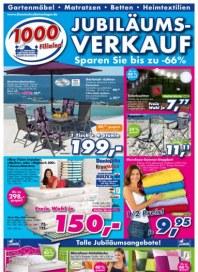 Dänisches Bettenlager Jubiläumsverkauf Mai 2012 KW22