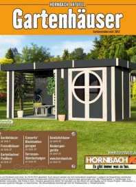 Hornbach Gartenhäuser 2012 Januar 2012 KW52