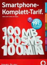 Vodafone Smartphone Komplett Tarif April 2012 KW17