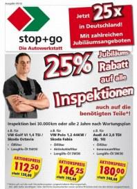 stop+go Monatsflyer Mai 2012 KW18