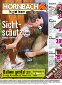 Hornbach Monatskatalog Mai 2012 KW18