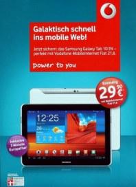 Vodafone Galaktisch schnell ins mobile Web Mai 2012 KW18
