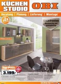 OBI Aktuelle Küchenangebote Mai 2012 KW19