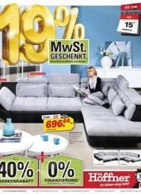 Höffner 19% MwSt. geschenkt Mai 2012 KW20