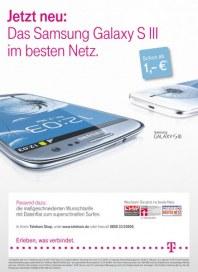 Telekom Shop Das neue Samsung Galaxy S III Mai 2012 KW22 1