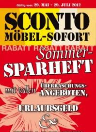Sconto Sommer Sparheft Mai 2012 KW22