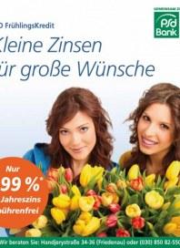 PSD Bank Kleine Zinsen für große Wünsche Mai 2012 KW22