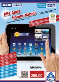 Aldi Nord Alle Apps immer dabei Juni 2012 KW23
