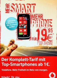 Vodafone Mehr Smart, Mehr Phone Mai 2012 KW19