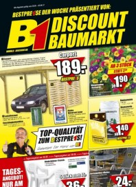 B1 Discount Baumarkt Hauptflyer Mai 2012 KW21