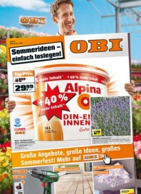 OBI Große Angebote, große Ideen, großes Sommerfest Juni 2012 KW22