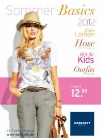 KARSTADT Sommer-Basics 2012 Mai 2012 KW22