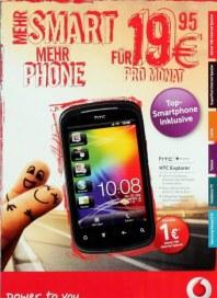 Vodafone Mehr Smart, Mehr Phone Mehr Minuten Juni 2012 KW22