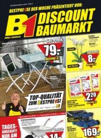 B1 Discount Baumarkt Hauptflyer Juni 2012 KW22