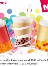 McDonald's Bubble Tea - Vorzeigen und genießen Juni 2012 KW23