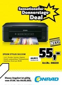 Conrad Sensationeller Donnerstags-Deal Juni 2012 KW23