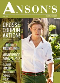 Anson's Männermode Sommer 2012 Juni 2012 KW23