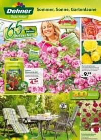 Dehner Gartenwelt Hauptflyer Juni 2012 KW23