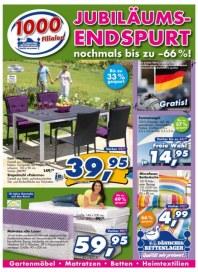 Dänisches Bettenlager Jubiläums-Endspurt Juni 2012 KW23