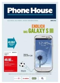 Phone House Endlich wieder da Juni 2012 KW22