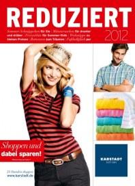 KARSTADT Shoppen und dabei sparen Juni 2012 KW24