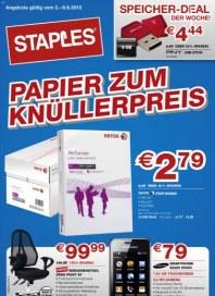 Staples Knüllerpreis Juni 2012 KW22