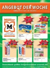 Müller Angebot der Woche Juni 2012 KW24