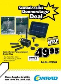 Conrad Sensationeller Donnerstags-Deal Juni 2012 KW24 1