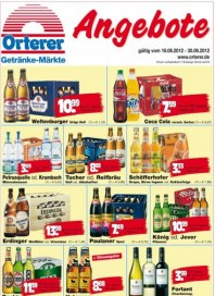 Orterer Getränkemarkt Hauptflyer Juni 2012 KW24 1