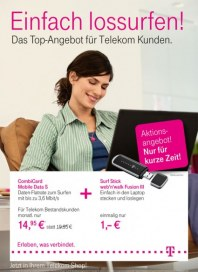 Telekom Shop Einfach lossurfen Juni 2012 KW24