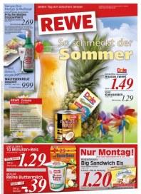 Rewe So schmeckt der Sommer Juni 2012 KW25