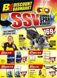 B1 Discount-Baumarkt Sommer Spar Verkauf Juni 2012 KW24