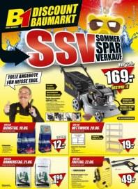 B1 Discount Baumarkt Hauptflyer Juni 2012 KW24 1