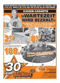 Globus Baumarkt Wartezeit wird bezahlt Juni 2012 KW25 1