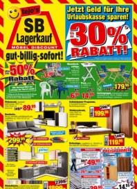 tejos SB-Lagerkauf Möbel Discount Juni 2012 KW25