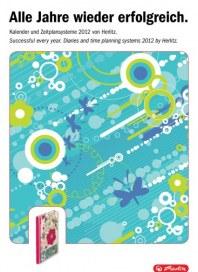 Herlitz PBS AG Kalender-Katalog 2012 Januar 2012 KW52