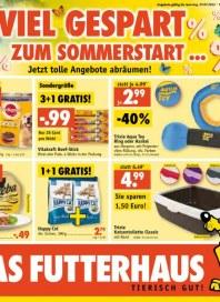 Futterhaus Viel gespart zum Sommerstart Juni 2012 KW26
